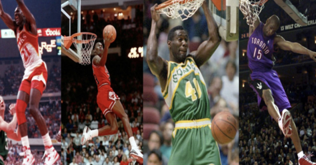 NBA ~ Some of the BEST Dunks