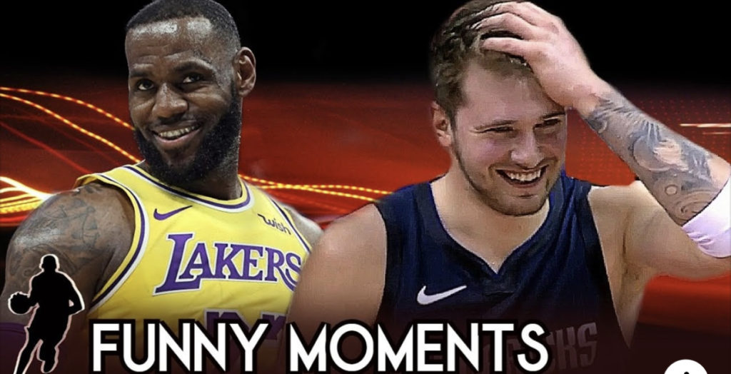 NBA BLOOPERS ~Funny Moments 2019