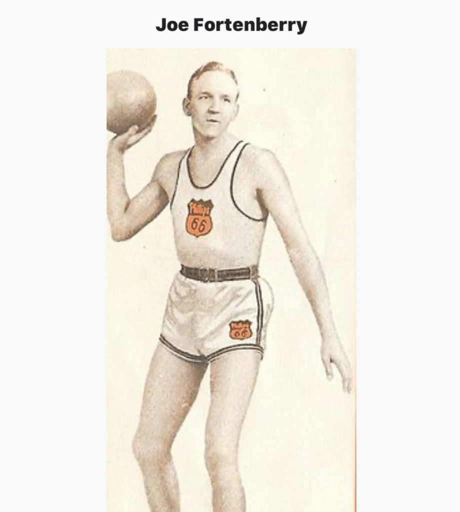The FIRST to DUNK in an Organized Game ~ Joe Fortenberry